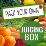 Pack your own juicing box from our wholesome selection of fruit and vegetables